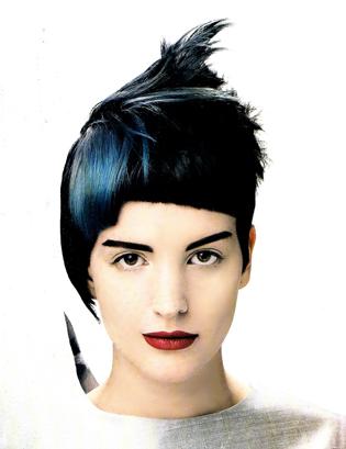 Blue Black Hair Colour. Black and Blue Please