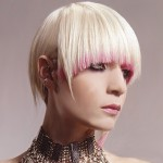 Platinum blonde with cady floss pink tips