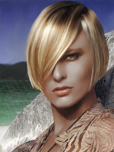 Slick Blonde Haircut My New Hair