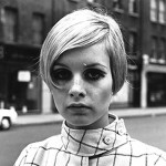 Twiggy blonde and short