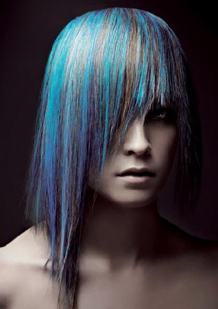 Blue Silver Hair My New Hair