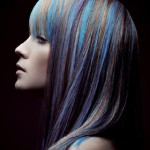 Hair color that adds texture