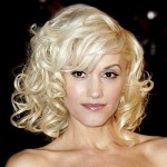 Gwen Stefani with Curls