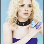 Scarlett Johansson Blonde Curls