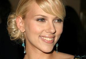 Scarlett Johansson Updo