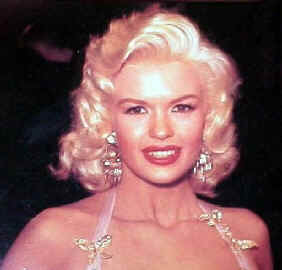 Jayne Mansfield with brown hair