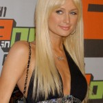 Paris Hilton Long Platinum Blonde