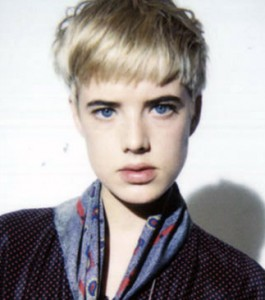 Agyness Deyn's cool short hair