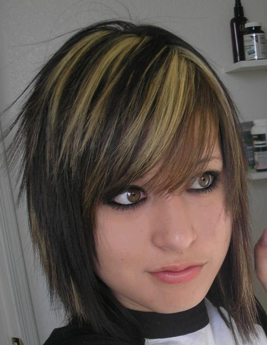 hair. Great emo haircut