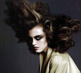 Bride of Frankenstein Hair style