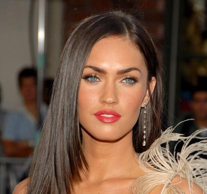 Megan Fox Straight Hair