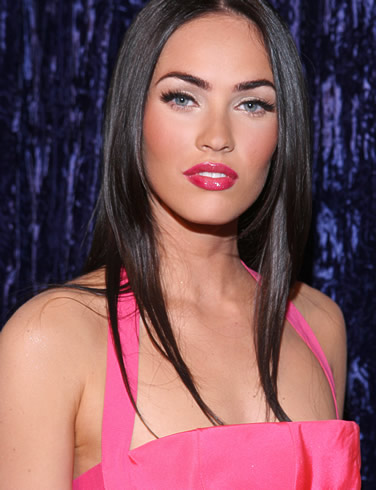 Megan Fox with Straight Hair