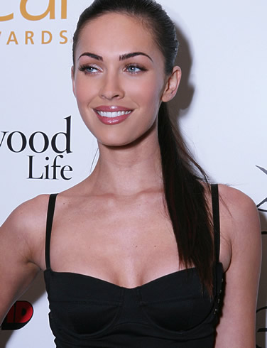 Megan Fox Ponytail