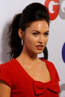 Megan Fox Loose Ponytail