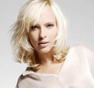 Blonde Fringe Hairstyle