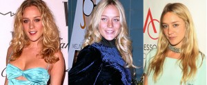 Chloe Sevigny known for beautiful blonde layered hair