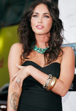 Megan Fox Arm Tattoo My New Hair