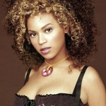 Beyonce's Afro Hairstyle