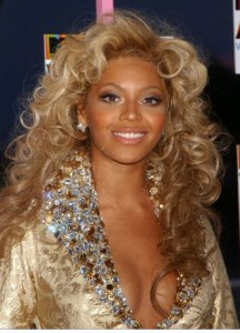 Beyonce's Almost a Platinum Blonde