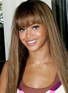 Groovy Beyonce Bangs And Straight Hair My New Hair Short Hairstyles For Black Women Fulllsitofus