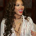 Beyonce's Long Dark Curly Hair
