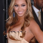 Beyonce's Golden Blonde Waves