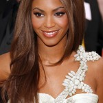 Beyonce's Long Brown Hair