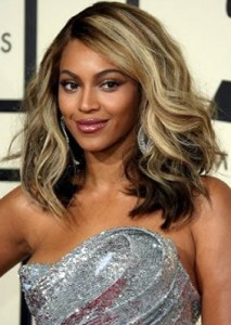 Beyonce Short Blonde Hair