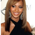 Beyonce's Medium Length Straight Hairstyle