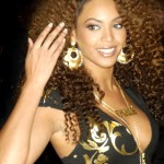 Beyonce with Ringlets