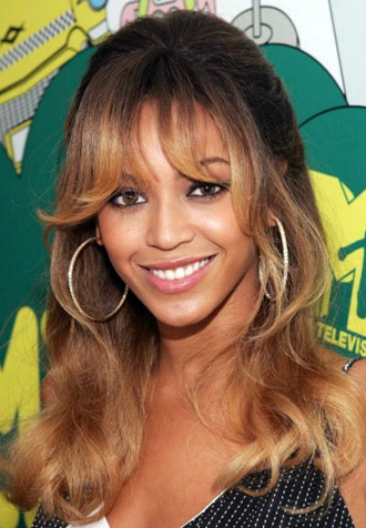 Excellent Beyonce Debuts New Blunt Bangs In Paris Photos Short Hairstyles For Black Women Fulllsitofus