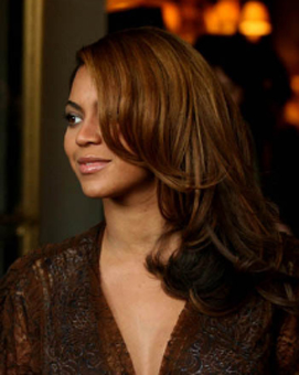 Beyonce Layered Hair