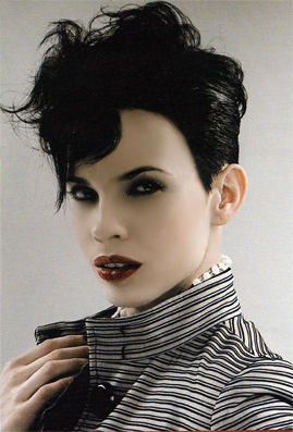 Goth Hairstyles for Black Girls with Short Hair
