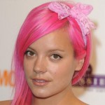 Lilly Allen's Pink Hair