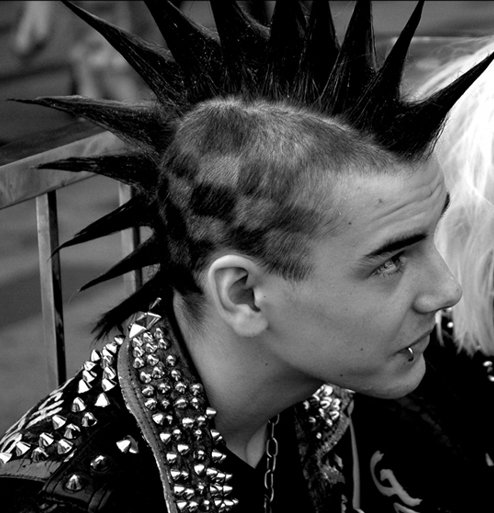 Checked Mohawk