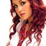 Dark Pink Hairstyle