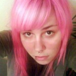 A Lighter Shade of Pink Hair