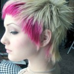 Pink and Blonde Hairstyle