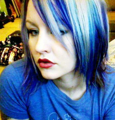 02 blue hair my new hair dark vibrant blue hair mixed with platinum blonde and dark hair underneath urmus Choice Image