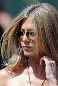 jennifer aniston hair color   my new hair