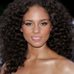 Alicia Keys Natural Curls