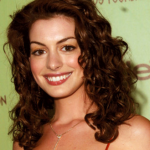Anne Hathaway big loose curls