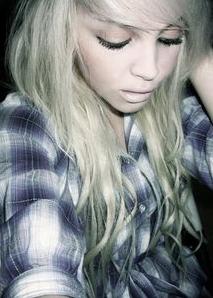Pretty Blonde Emo
