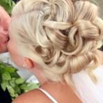 Elaborate wedding Up Style