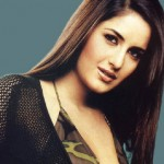 Katrina Kaif with long straight hairstyle