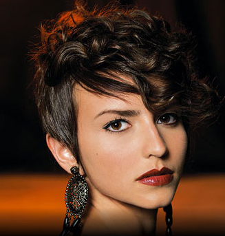 Punk Curly Mohawk Hairstyle Photo Bugscom   LONG HAIRSTYLES