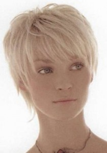 --Galeria-- White-blonde-short-hair-210x300
