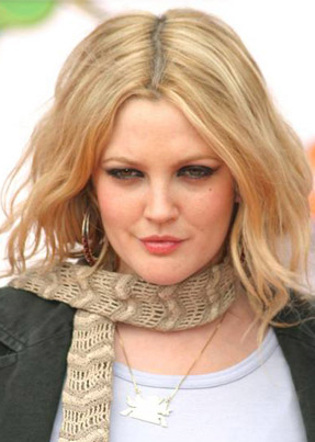 ... Barrymore Blonde drew - barrymore - blonde -hairstyle - my new hair