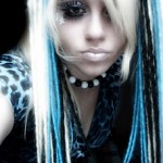 blonde-blue-emo-hair