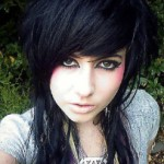 cute-black-emo-hairstyle